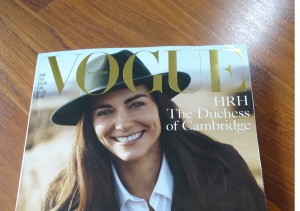 Vogue Magazine UK with Kate Middleton