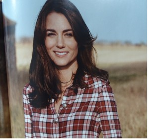 Kate Middleton in Vogue UK