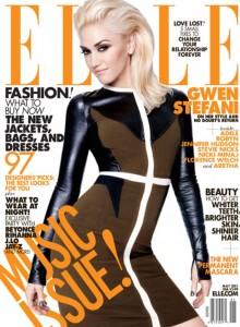 Magazine ELLE issue with Gwen Stefani
