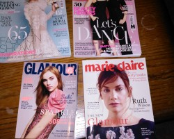 I do love a good girly mag.