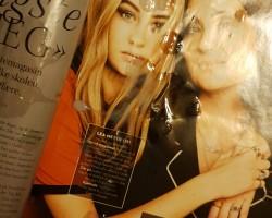 Cumming on magazines