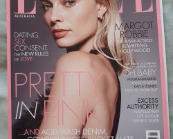 As requested, here is the Elle Australia May 2019 Margot Robbie