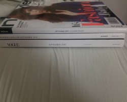 Got my American September issues