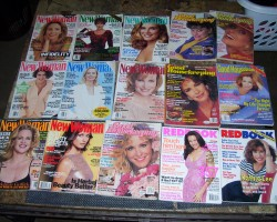 some older new women redbook and good housekeeping