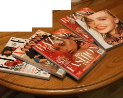 What would you like to do with these glossy magazines?