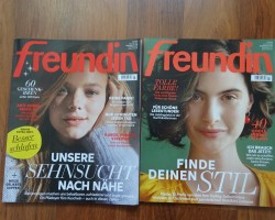 german magazine freundin und donna