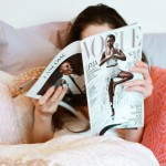 Veronika In Bed With Her Magazines
