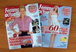 The last two Femme Actuelle I bought