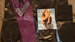 Harper's Bazaar fun with Jen!