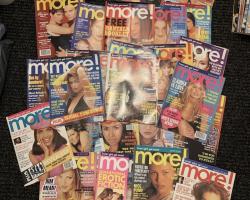 Who bought the More! Magazines on eBay UK?