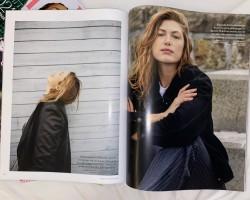 Some closeups of my magazine Damernas Värld that I will be enjoying tonight.